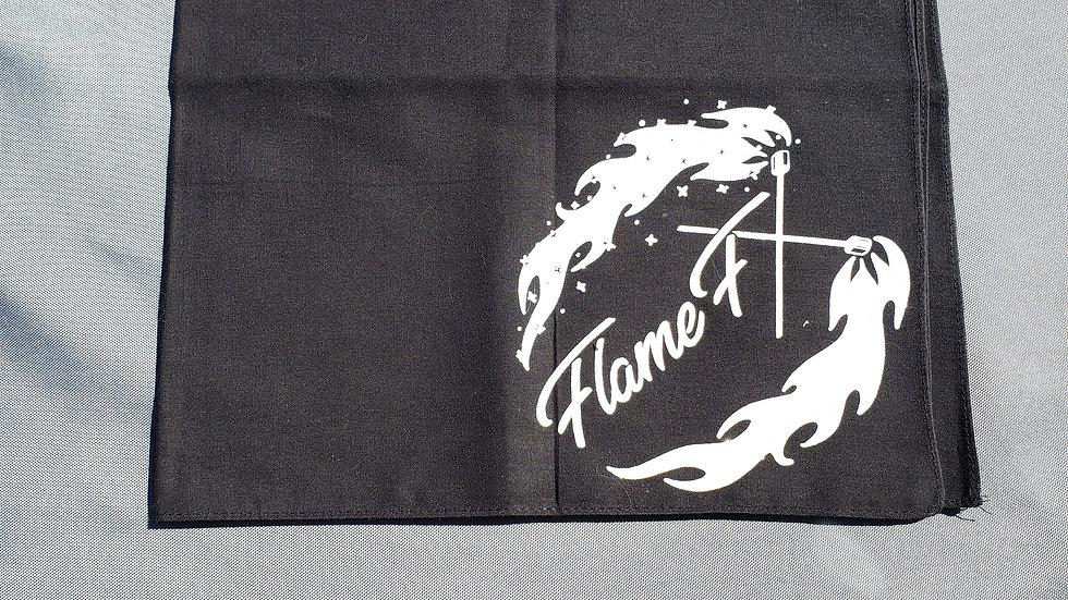 """21""""x 21""""Cotton FlameFX Bandana"""