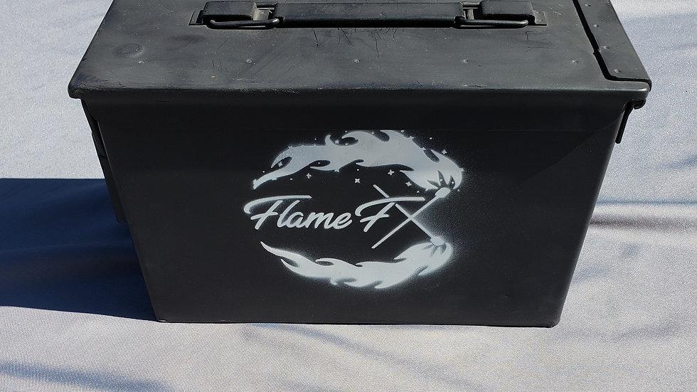 Hand Painted FlameFX Custom Dip Can