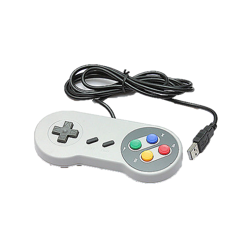 Wired SNES style controller