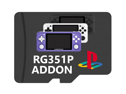 PS1 Addon Card (RG351P Handheld Only)