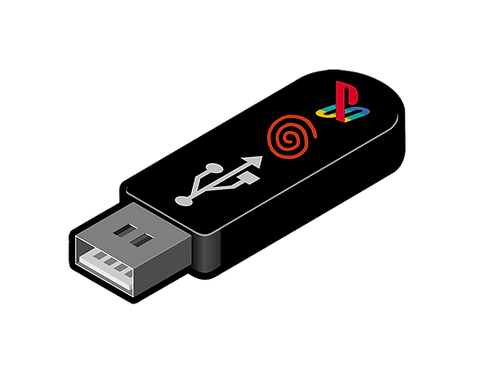 PS1 & Dreamcast Addon Stick (Level3 Only)
