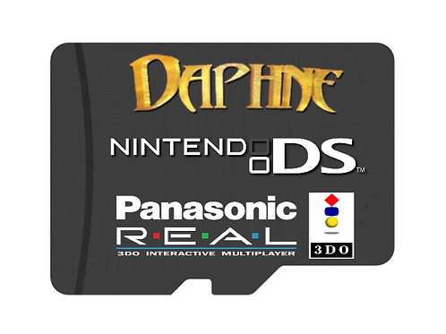 Daphne, NDS, 3DO Addon card (Level 3 only)