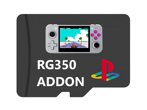 PS1 Addon Card (RG350 Handheld Only)