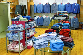 New store shirts department