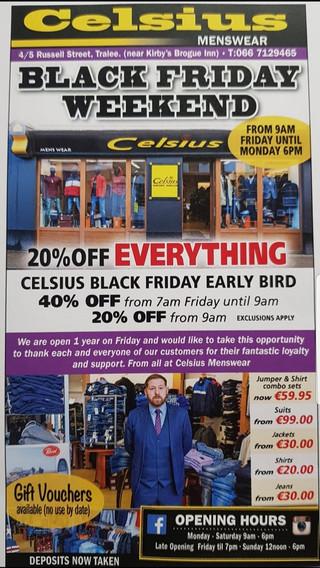 Celsius Flyer