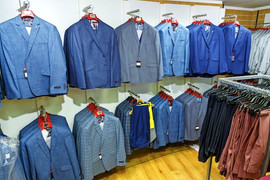 New store suiting department