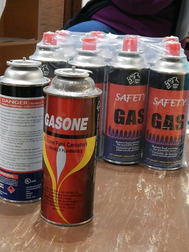 Butane Gas Cans