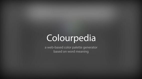 Colourpedia - Interface & UX Design  