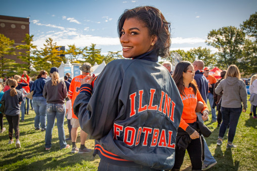 Featured on the University of Illinois' Storied website.