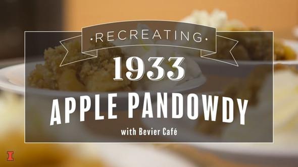 Recreating 1933 Apple Pandowdy