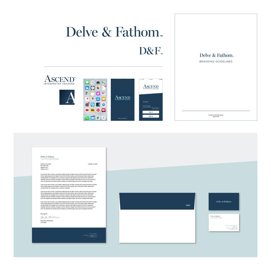 Delve & Fathom - Branding Direction