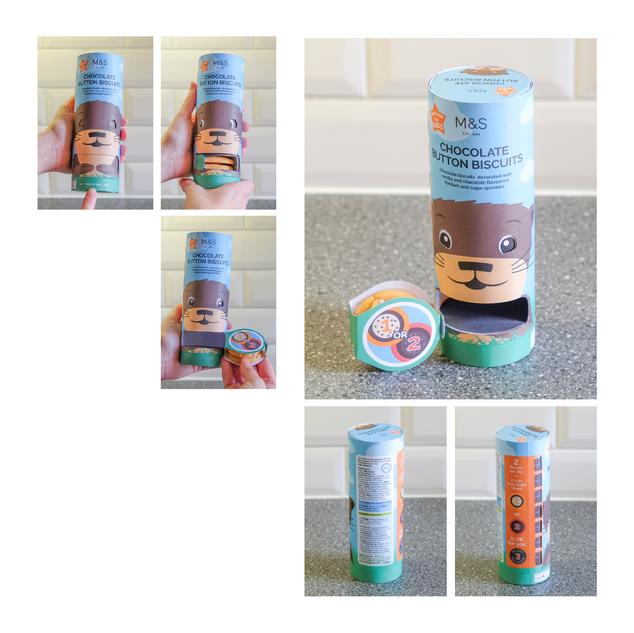 Marks & Spencer Biscuits - Branding & Packaging