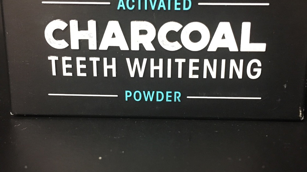 Charcoal Teeth Whitening Powder