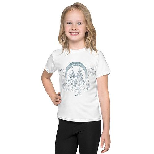 Mermates Convention 2021 - Art Nouveau WHITE Kids T-Shirt