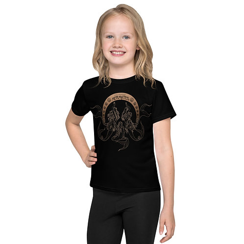 Mermates Convention 2021 - Art Nouveau BLACK Kids T-Shirt