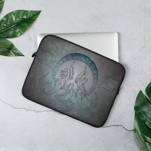 Mermates Convention 2021 - Art Nouveau Laptop Sleeve