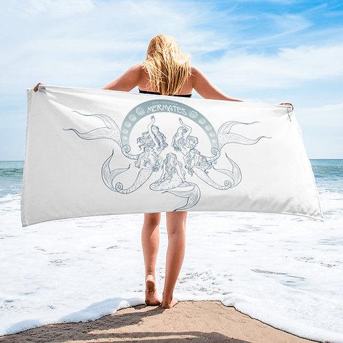 Mermates Convention 2021 - Art Nouveau WHITE Towel