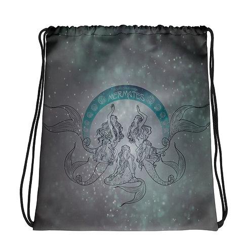 Mermates Convention 2021 - Art Nouveau Drawstring bag