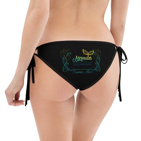 Mermates Convention 2021 - BLACK Bikini Bottom Reversible