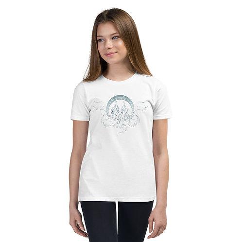 Mermates Convention 2021 - Art Nouveau WHITE Teens Short Sleeve T-Shirt