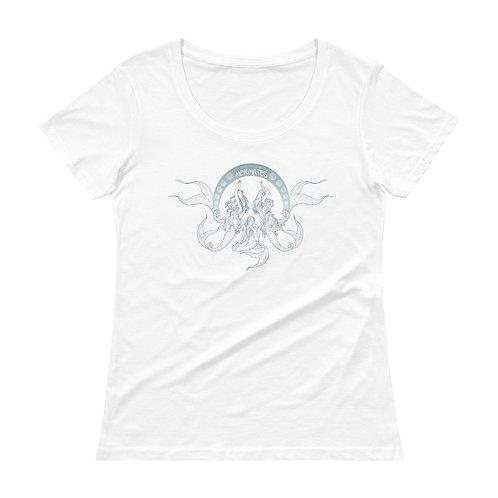 Mermates Convention 2021 - Art Nouveau WHITE Ladies' T-Shirt