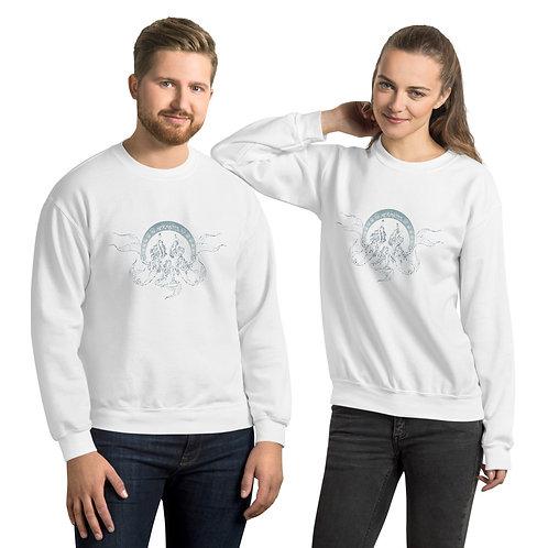 Mermates Convention 2021 - Art Nouveau WHITE Unisex Sweatshirt