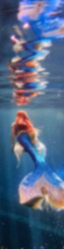 lexie mermaid sirène professionnelle pro