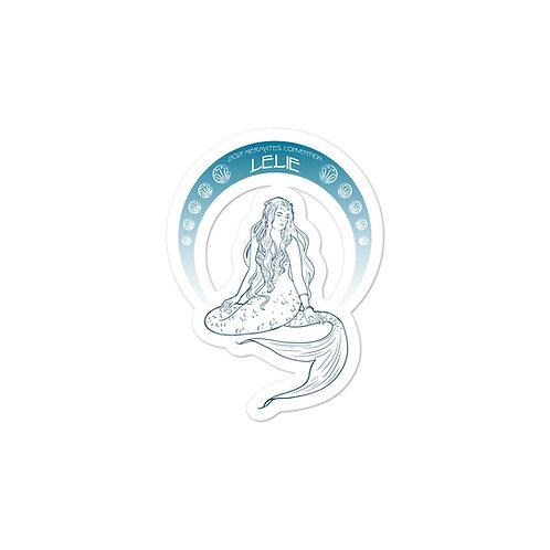 Mermates Convention 2021 - Arch Lelie - Art Nouveau Bubble-free stickers