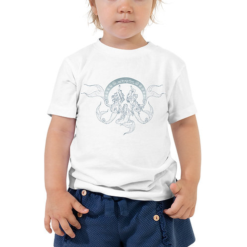 Mermates Convention 2021 - Art Nouveau WHITE Toddler Short Sleeve Tee