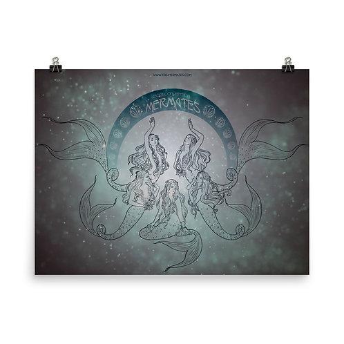 Mermates convention 2021 - Art Nouveau Poster
