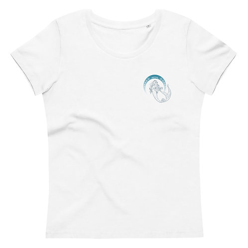 Mermates Convention 2021 Arch Naomi badge - Art Nouveau Ladies' fitted eco tee