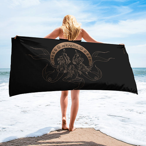 Mermates Convention 2021 - Art Nouveau BLACK Towel