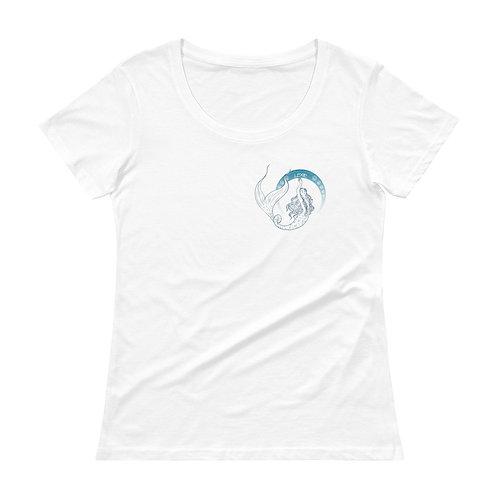 Mermates Convention 2021 Arch Lexie - Art Nouveau Ladies' Scoopneck T-Shirt
