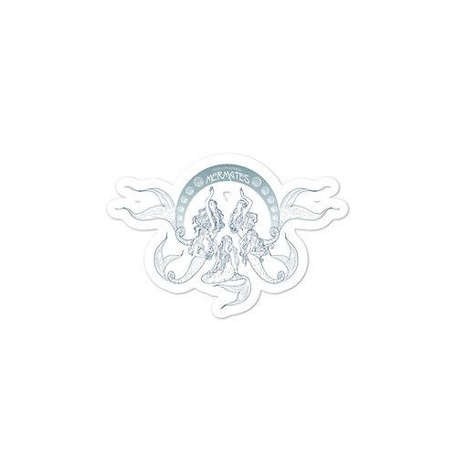 Mermates Convention 2021 - Art Nouveau Blue stickers