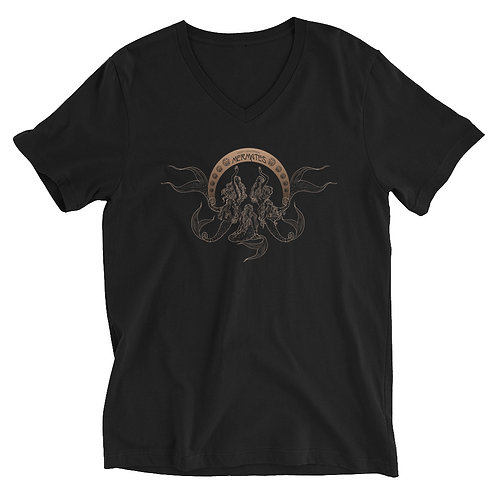 Mermates Convention 2021 - Art Nouveau BLACK V-Neck T-Shirt