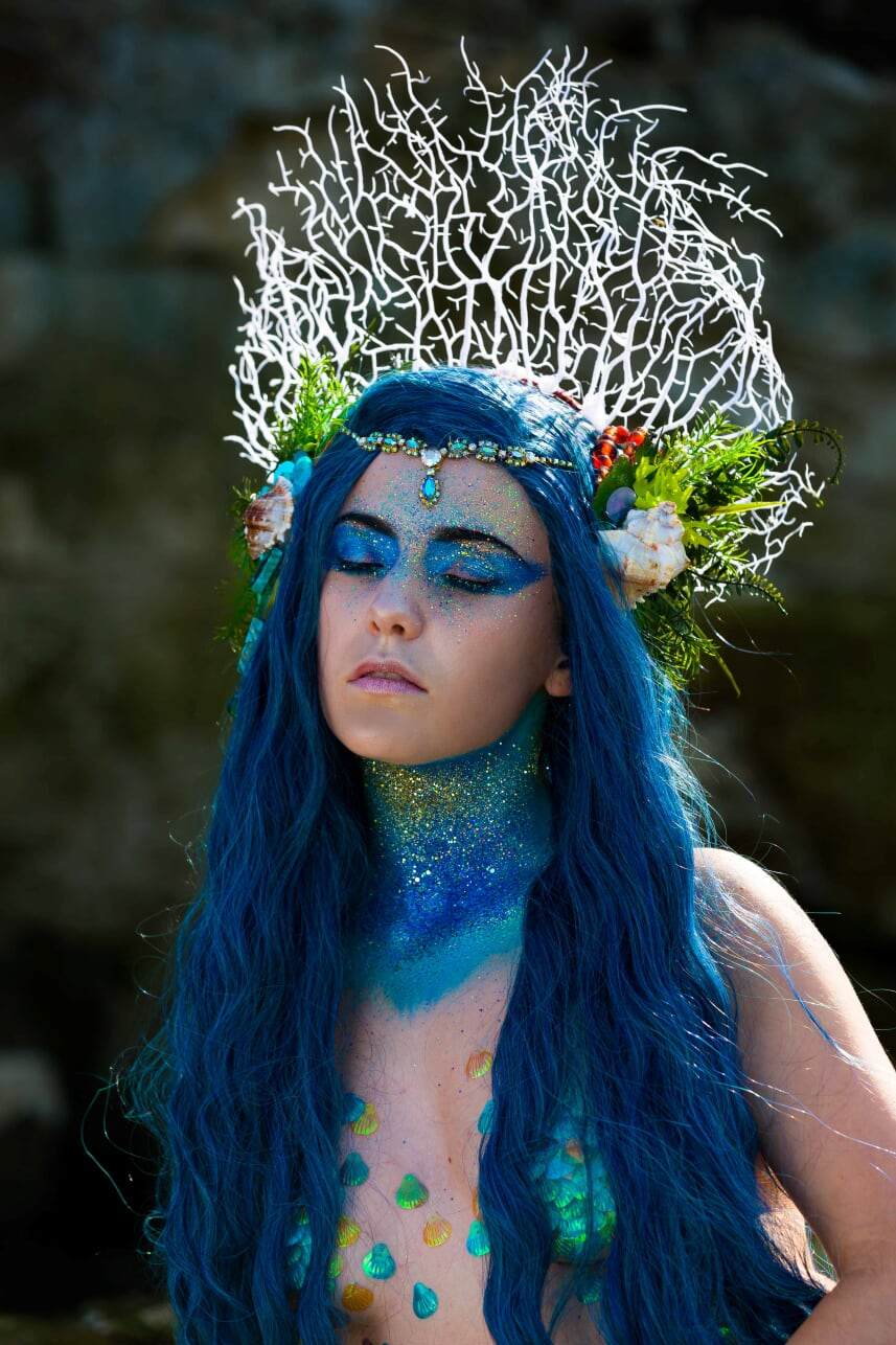 Lexie Mermaid performer sirène professio