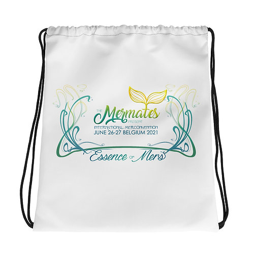 Mermates Convention 2021 Drawstring bag