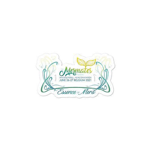 Mermates Convention 2021  stickers