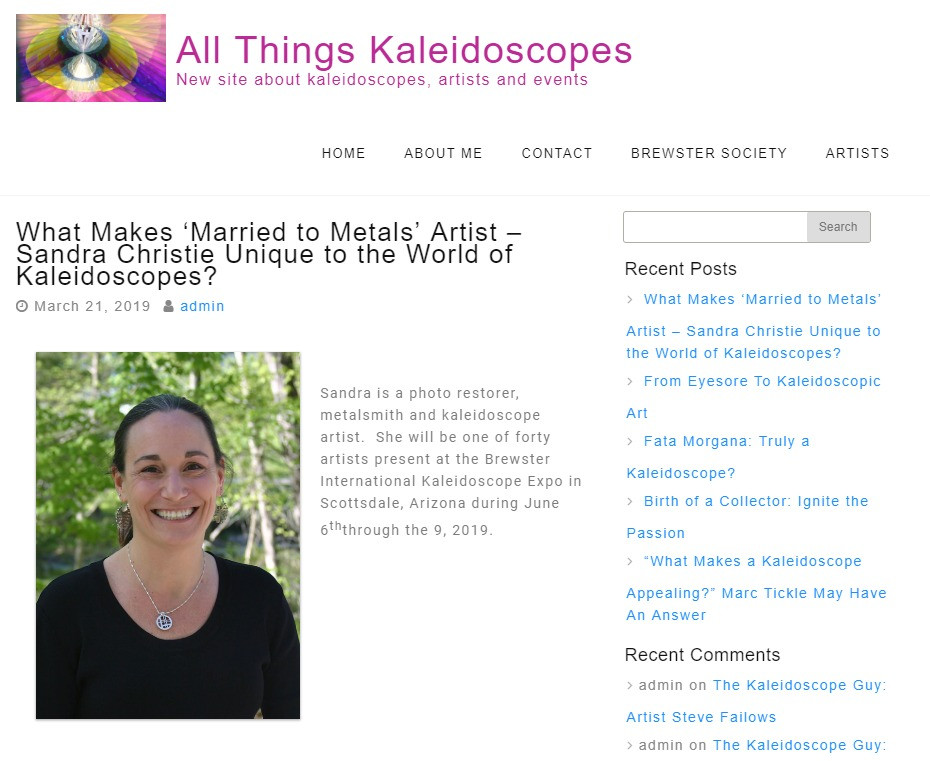 Intro from allthingskaleidoscopes.com
