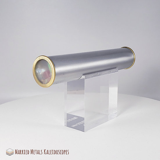 00019-6 Bare Essentials Aluminium Kaleidoscope Internal Object Chamber