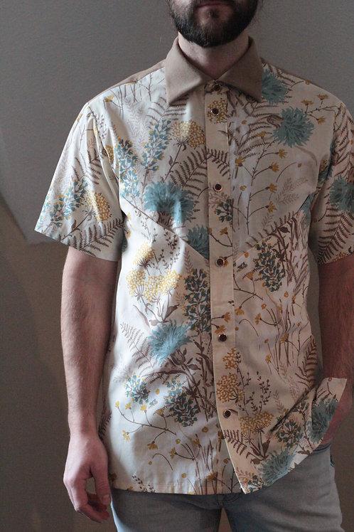 Smoking Shirt (Floral)