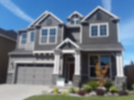 Grey Home Exterior