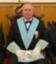 WBro Jason Heels, Worshipful Master of Marquis of Granby Lodge No.124