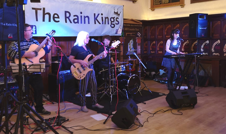 The Rain Kings, a great four piece band that plays the music scene in north east England UK
