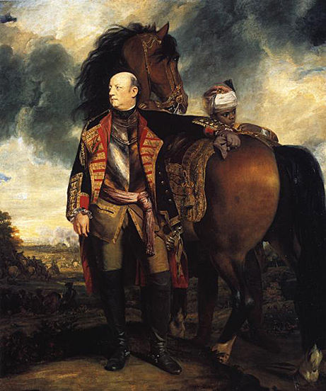 Rt Hon. John Manners, Marquis of Granby C.1765 by Joshua Reynolds