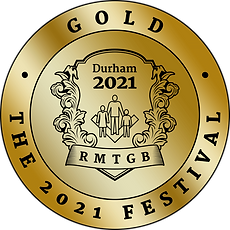 A gold award for the Freemason's province of Durham UK for the 2021 charity festival.