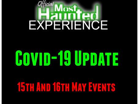 15th and 16th May 2020