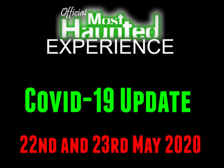 22nd and 23rd May 2020