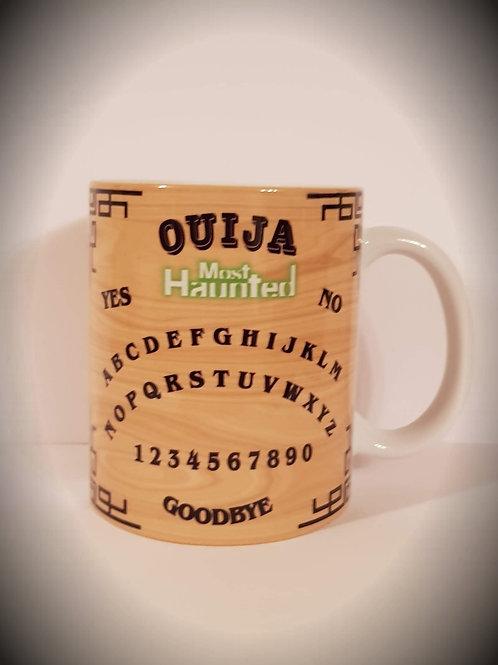 MERCH Most Haunted Wood Effect Ouija Mug