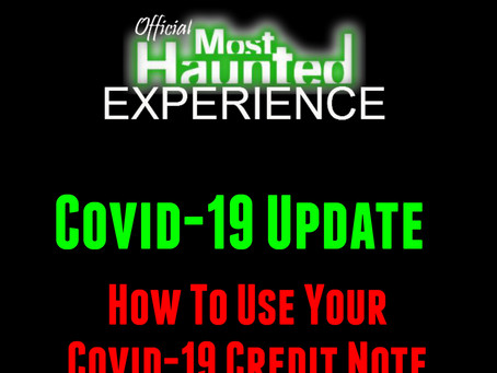 How To Use Your Covid-19 Credit Note